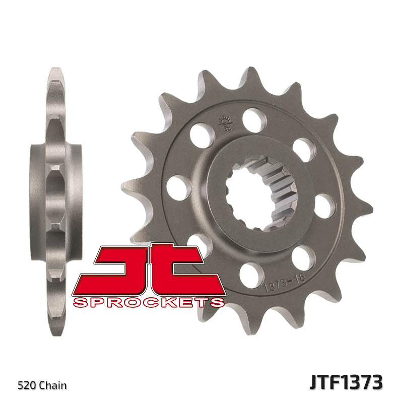 JTF1373 Front Drive Motorcycle Sprocket 17 Teeth (JTF 1373.17)