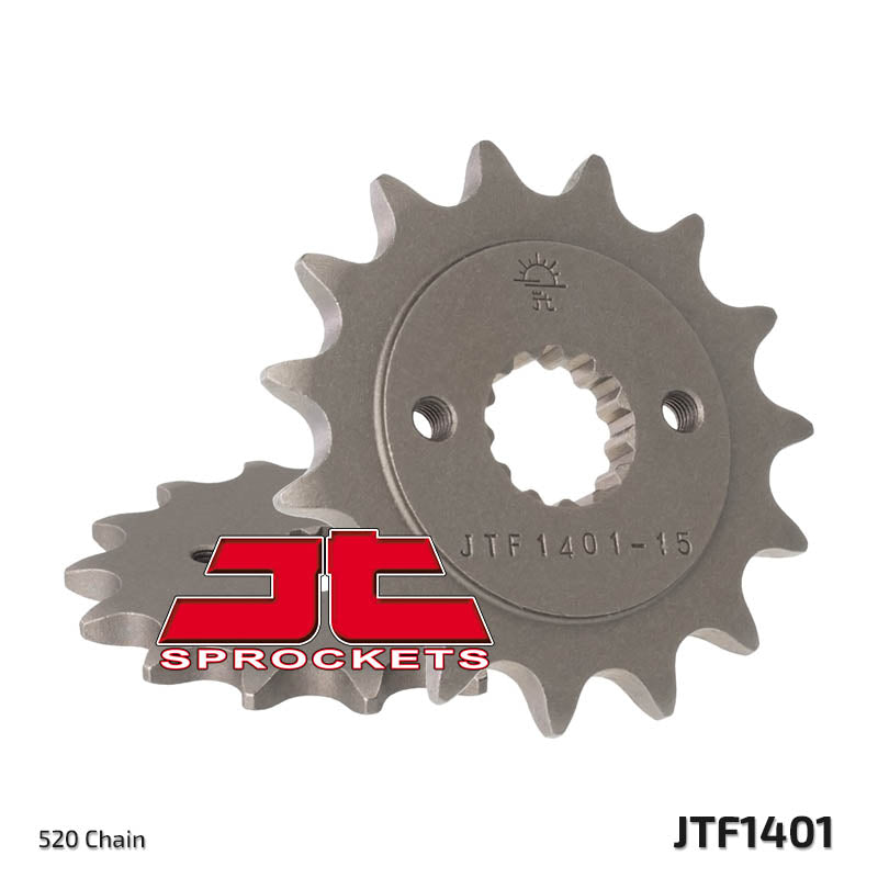 JTF1401 Front Drive Motorcycle Sprocket 14 Teeth (JTF 1401.14)