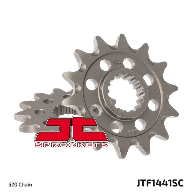 Front Motorcycle Sprocket for Suzuki_RM-Z450_08-12, Suzuki_RMX450Z L0_10