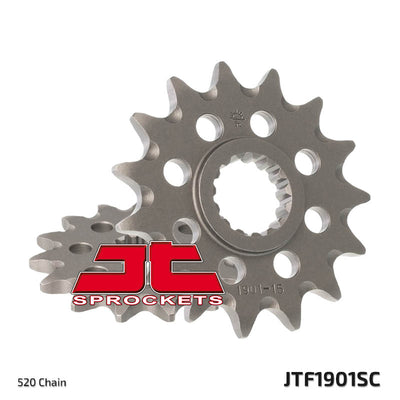 Front Motorcycle Sprocket for KTM_250 EXC Enduro_00-03, KTM_250 EXC Racing_04-06, KTM_300 EXC Enduro_00-03, KTM_400 EXC Enduro Racing_03-11, KTM_520 EXC Enduro Racing_00-02, KTM_525 EXC Enduro Racing_03-07, KTM_525 MXC Desert Racing_05, KTM_525 XC Desert Racing_07, KTM_525 XC_08-11, KTM_525 XC_12, KTM_530 EXC Six Days_10-11, KTM_530 EXC_08-11