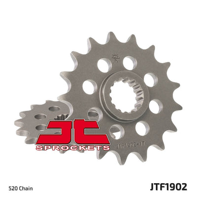 Front Motorcycle Sprocket for KTM_400 EGS-E_96-98, KTM_400 LC4 E Enduro_97-01, KTM_400 LC4 Enduro_97-01, KTM_400 LSE_97-98, KTM_600 LC4 Enduro_88-89, KTM_600 LC4 Enduro_90, KTM_600 LC4 Enduro_91-93, KTM_600 LC4 MX_89, KTM_600 LC4 MX_90-92, KTM_620 LC4 Enduro_94, KTM_620 LC4 MX_94, KTM_620 LC4 SX Motocross_95-98, KTM_620 SC Super Comp_95-96, KTM_625 LC4 Supercomp_02, KTM_690 Enduro R_08-11, KTM_690 Enduro R_12, KTM_690 Enduro_08-10, KTM_690 SM_07