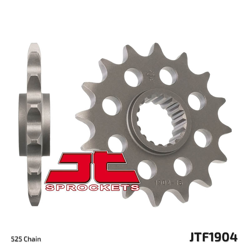 Front Motorcycle Sprocket for KTM_1190 RC8 R Akro Ltd. Ed._10, KTM_1190 RC8 R Red Bull Ltd Ed._10, KTM_1190 RC8 R Track_11-12, KTM_1190 RC8 R_10, KTM_1190 RC8 R_11-12, KTM_1190 RC8_08-09, KTM_1190 RC8_10-11, KTM_950 LC8 Adventure S_04-06, KTM_950 LC8 Adventure_03-06, KTM_950 LC8 Supermoto R_07-08, KTM_950 LC8 Supermoto_06-09, KTM_990 Adventure S_07-08, KTM_990 Adventure_05-09, KTM_990 SM R_10-11, KTM_990 SM R_12, KTM_990 SM T_10-11, KTM_990 SM T_12, KTM_990 Superduke R_10-11, KTM_990 Superduke_05-11, KTM_99