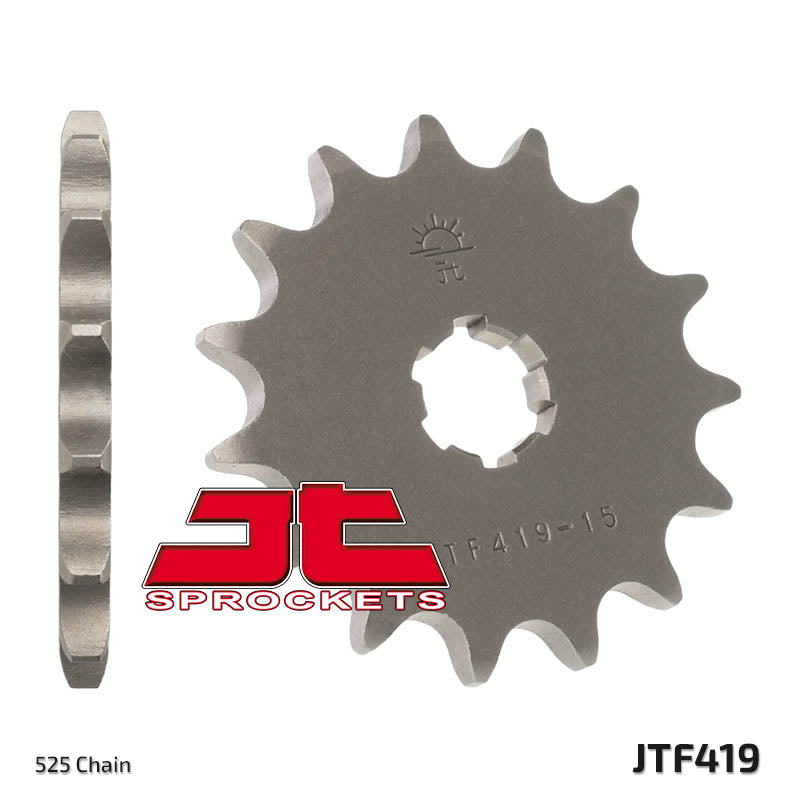 Front Motorcycle Sprocket for Suzuki_GT250 A B C_75-78, Suzuki_GT250 K L M_73-75