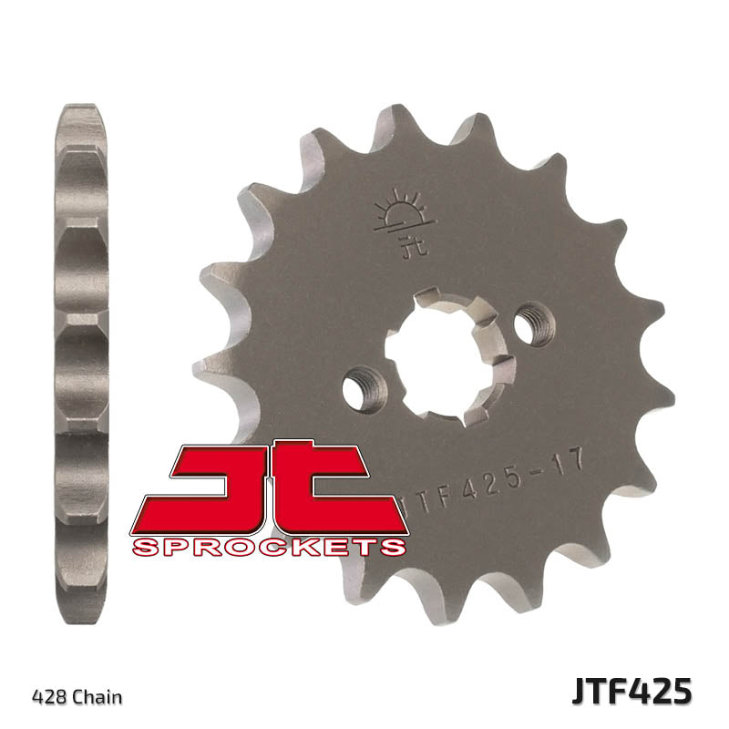 Front Motorcycle Sprocket for Suzuki_RG125 F Race Replica_93-96, Suzuki_RG125 FU-N P R Wolf_92-94, Suzuki_RG125 FU-N Race Replica_92