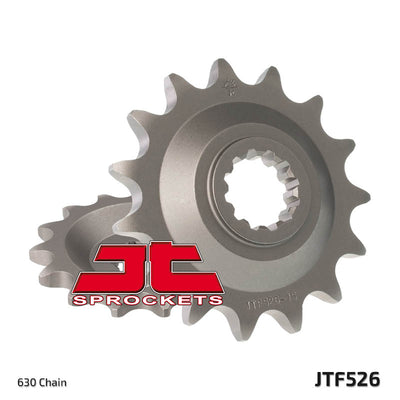 JTF526 Front Drive Motorcycle Sprocket 15 Teeth (JTF 526.15)