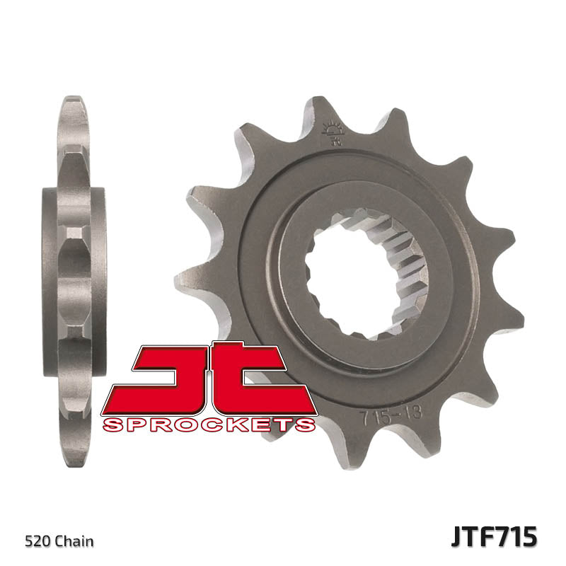 Front Motorcycle Sprocket for Gas Gas_200 EC_00-02, Gas Gas_200 EC_03-10, Gas Gas_200 EC_11, Gas Gas_250 EC / MC_01-10, Gas Gas_250 EC 2T_11, Gas Gas_250 EC_00, Gas Gas_300 EC / MC_01-10, Gas Gas_300 EC_00, Gas Gas_300 EC_11, Gas Gas_400 EC FSE_00, Gas Gas_400 SM FSE_03-04, Gas Gas_450 EC FSE_03-11, Gas Gas_450 SM FSE_03-04, Gas Gas_450 SM_09, Gas Gas_515 EC_09, Gas Gas_515 SM_09