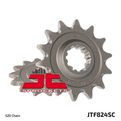Front Motorcycle Sprocket for Husqvarna_250 TC_02-03, Husqvarna_250 TE_02-03, Husqvarna_300 WR_11-12, Husqvarna_410 TE E_99, Husqvarna_450 SMR_07-09, Husqvarna_450 TC_02-10, Husqvarna_450 TE_05, Husqvarna_510 SM R_06-10, Husqvarna_510 TC_05, Husqvarna_510 TC_06, Husqvarna_510 TC_07-10, Husqvarna_510 TE_05-06, Husqvarna_570 TC_01-03, Husqvarna_610 TC_99-00
