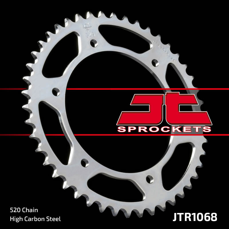 Rear Motorcycle Sprocket for Hyosung_GT250 Comet FI_10, Hyosung_GT250 Comet_06-09, Hyosung_GT250 EFI_11-12, Hyosung_GT250 R Comet FI_10, Hyosung_GT250 R Comet_09, Hyosung_GT250 R EFI_11-12, Hyosung_GT250 R Sport_04-08