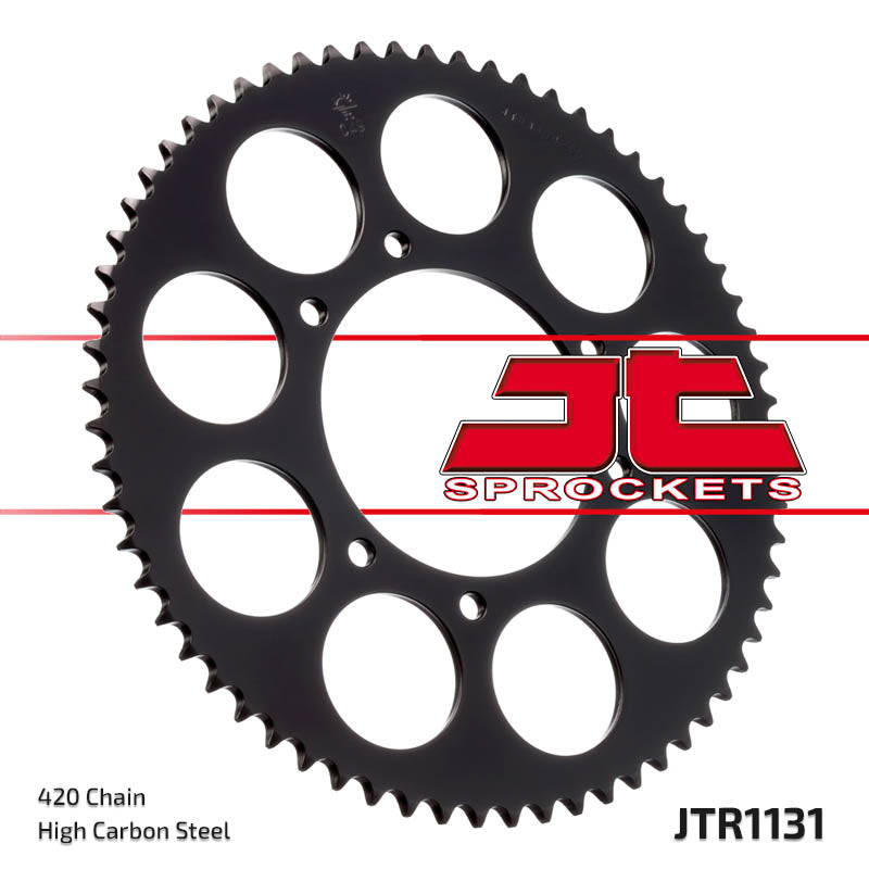 Rear Motorcycle Sprocket for MBK_50 X-Limit_03-06, Yamaha_DT50 R_03-06