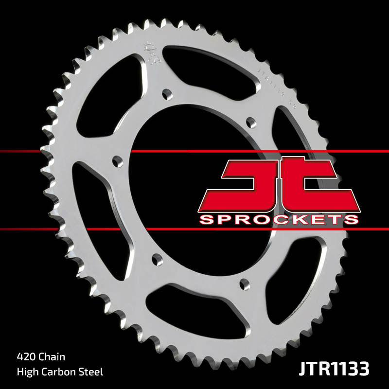 Rear Motorcycle Sprocket for Motor Hispania_50 RX_05-09, Peugeot_50 XR6_02-06