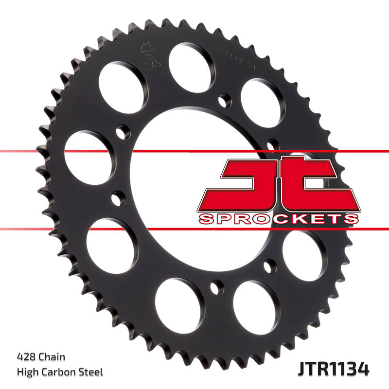 Rear Motorcycle Sprocket for Derbi_125 Cross City_07-08, Derbi_125 Cross City_09-10, Derbi_125 Senda SM_04-07, Malaguti_125 X3M Enduro_07-08, Yamaha_XT125 R_05-07, Yamaha_XT125 R_08-10