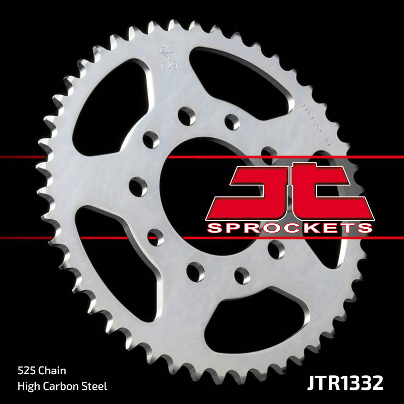 Rear Motorcycle Sprocket for Honda_CB400 F3S F3T F3V Super Four_, Honda_NV400 C-J K L N P R V Steed_, Honda_VFR400 ZG RG RG-YA ZH_, Honda_XRV750 Africa Twin_93-03