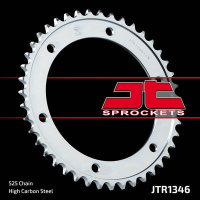 JTR1346 Rear Drive Motorcycle Sprocket 43 Teeth (JTR 1346.43)