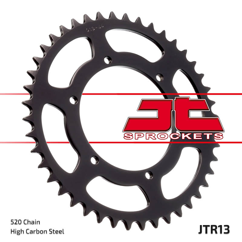 Rear Motorcycle Sprocket for Aprilia_125 STX_84, Cagiva_125 Blues Custom_87-95, Cagiva_125 Freccia C10_88-89