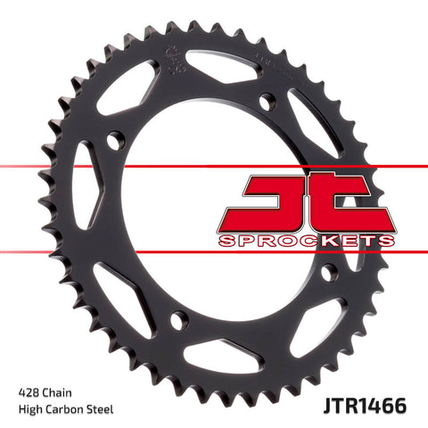 JTR1466 Rear Drive Motorcycle Sprocket 47 Teeth (JTR 1466.47)