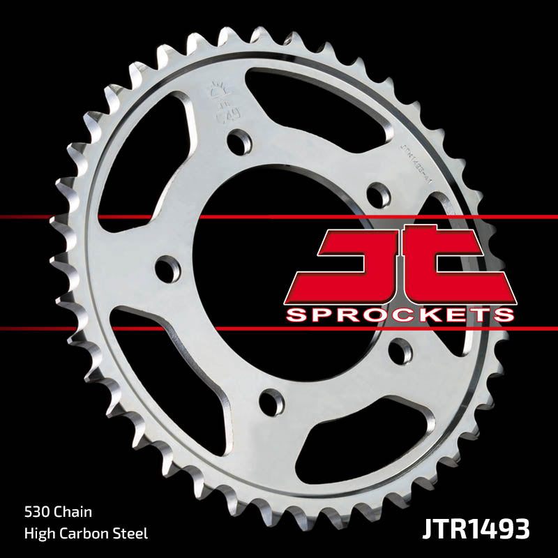 Rear Motorcycle Sprocket for Kawasaki_ZX-14 (ECF) Ninja_12, Kawasaki_ZZR1400 DCF_12