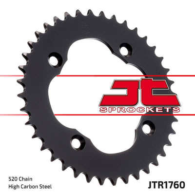 Suzuki LTR450 Quadracer 2006-2010 Quad ATV JTR1760 Rear Drive Motorcycle Sprocket 36 Teeth (JTR 1760.36)