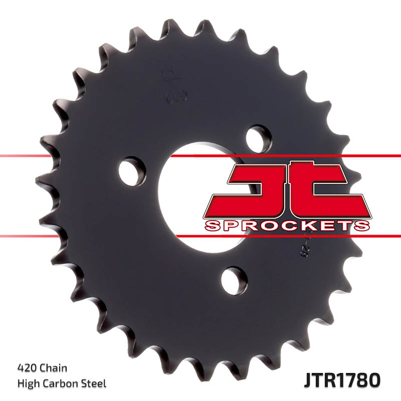 Rear Motorcycle Sprocket for Kawasaki_KDX50_03-06, Suzuki_JR50_83-06