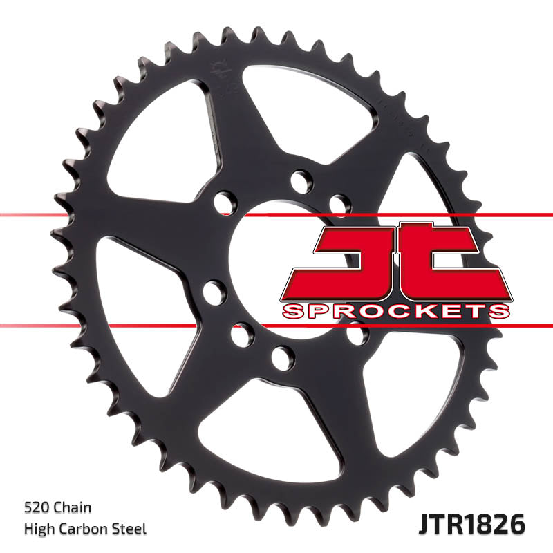 Rear Motorcycle Sprocket for Suzuki_LT230 E_86-93, Suzuki_LT230 S- F G H J_85-88