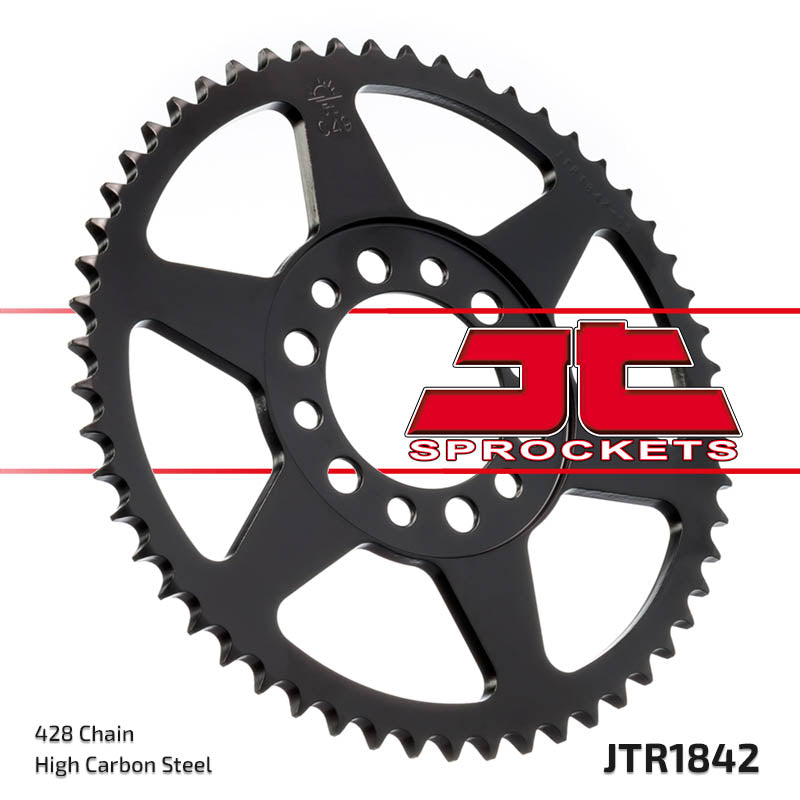 Rear Motorcycle Sprocket for Yamaha_DT125 F_75-76, Yamaha_TW200_89-present, Yamaha_TW225 E_02-06, Yamaha_XT200_