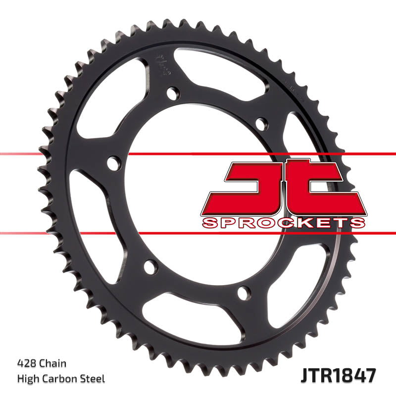 Rear Motorcycle Sprocket for Yamaha_TZR125 RR_96-00, Yamaha_TZR80 R_96