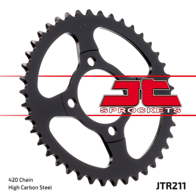 Rear Motorcycle Sprocket for Honda_C90 Cub_84-02