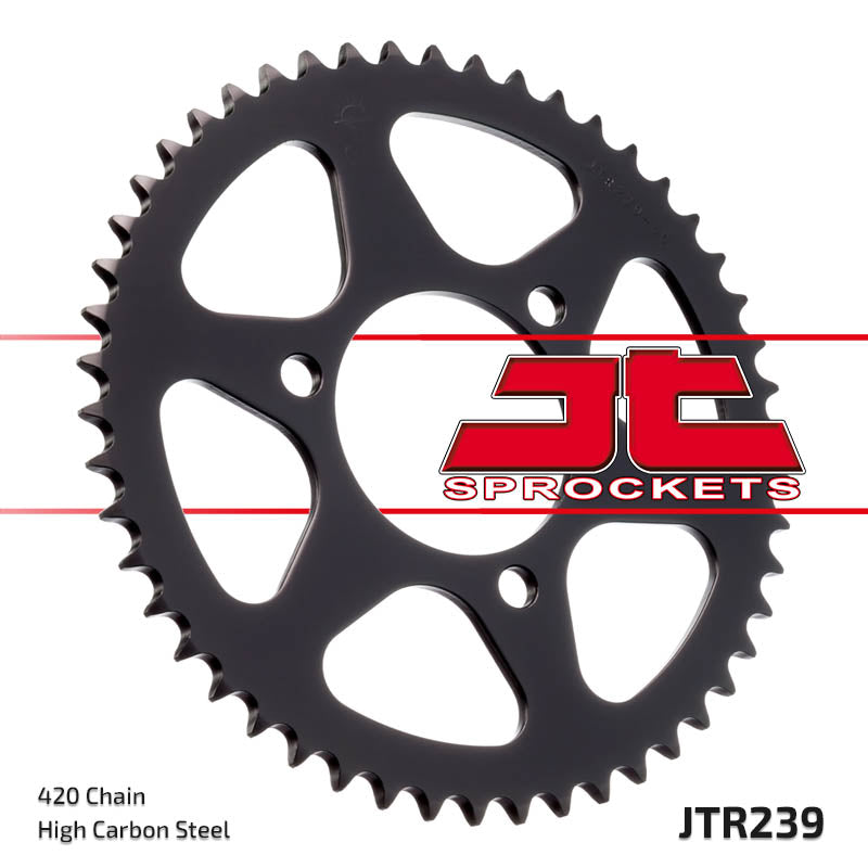 Rear Motorcycle Sprocket for Honda_MB50 SA_80-82, Honda_MBX50 SD SF_84-86, Honda_MT50 S_80-81