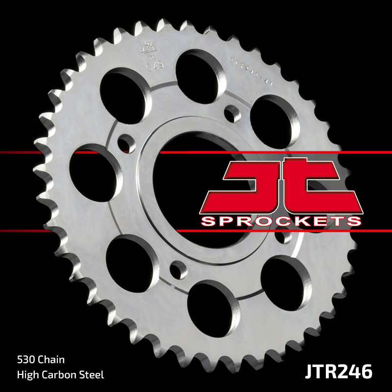 Rear Motorcycle Sprocket for Honda_CB400 N NA_79-80, Honda_CB400 T AT_78-79, Honda_CM400 T_