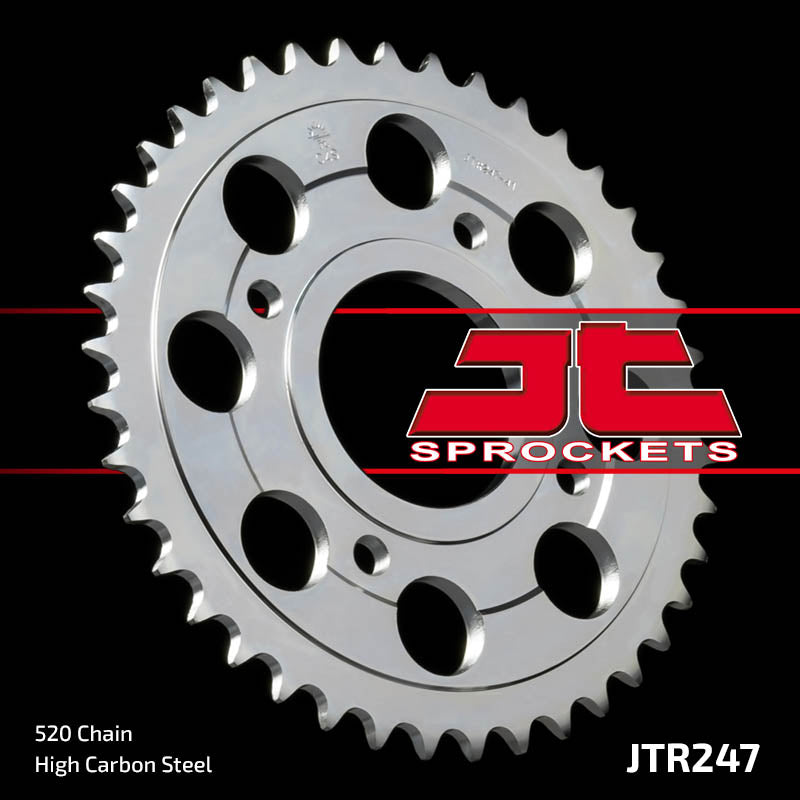 Rear Motorcycle Sprocket for Honda_CBX250 RSE_, Honda_CM400 T-B C D Chopper_81-83