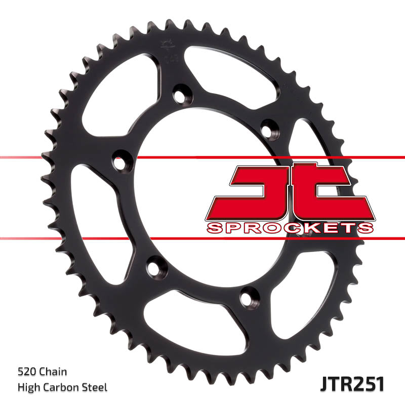 Rear Motorcycle Sprocket for Yamaha_YZ125 L M N_99-01, Yamaha_YZ125 T V W X Y Z A1 B_05-12, Yamaha_YZ250 F-N P R S 4-Str_01-04, Yamaha_YZ426 F-M N P_00-02, Yamaha_YZ450 F-R S_03-04