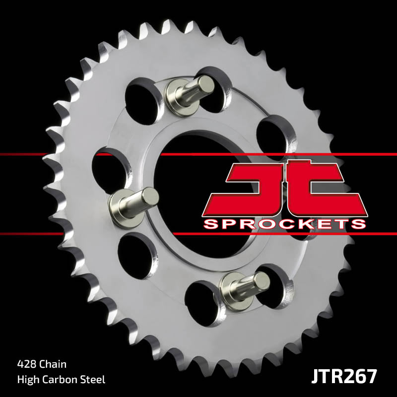 Rear Motorcycle Sprocket for Honda_CD175_71-78
