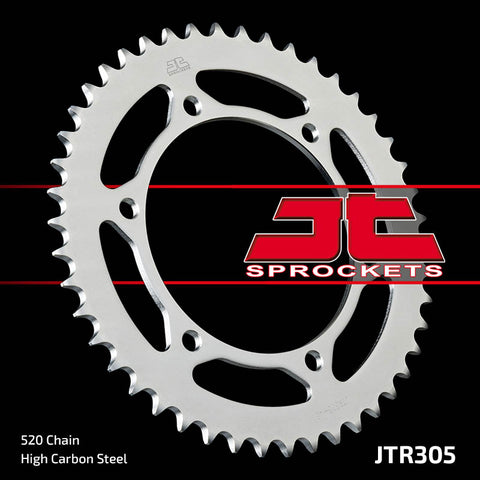 JTR305 Rear Drive Motorcycle Sprocket 46 Teeth (JTR 305.46)