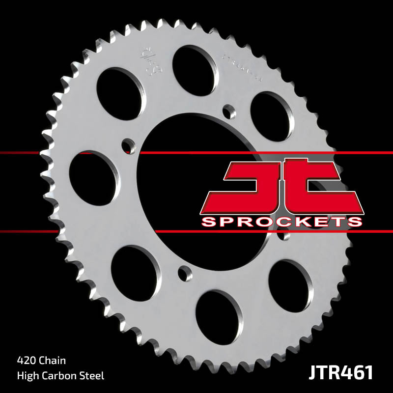 Rear Motorcycle Sprocket for Kawasaki_KX100 C1_98, Kawasaki_KX100 C2_99, Kawasaki_KX100 C3_01-12, Kawasaki_KX80 W3_00, Kawasaki_KX80 Y1 Y2 Y3 Big Wheel_98-00, Kawasaki_KX85 Big Wheel_01-12, Suzuki_RM100_03