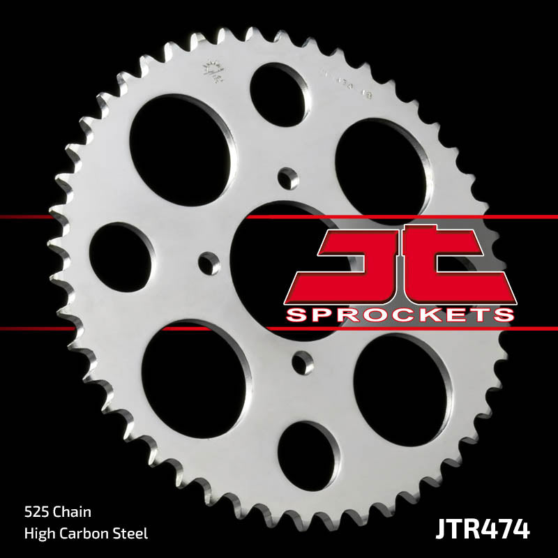 Rear Motorcycle Sprocket for Kawasaki_KH250 S1 B3-B5_75-82