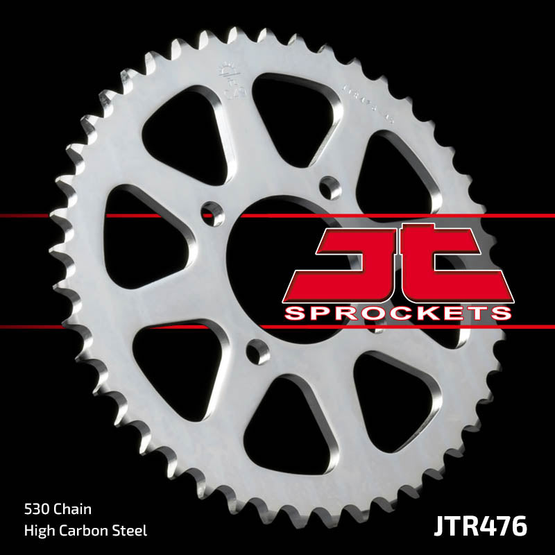 Rear Motorcycle Sprocket for Kawasaki_Z400 D1-D4_74-79, Kawasaki_Z440 C1/2 Fine Spline_80-81, Kawasaki_Z440 C1/2_80-81