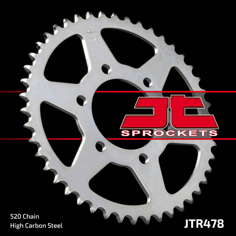 Rear Motorcycle Sprocket for Kawasaki_ZXR400 (ZX-4)_88-02, Kawasaki_ZXR400 R (ZX400J2)_