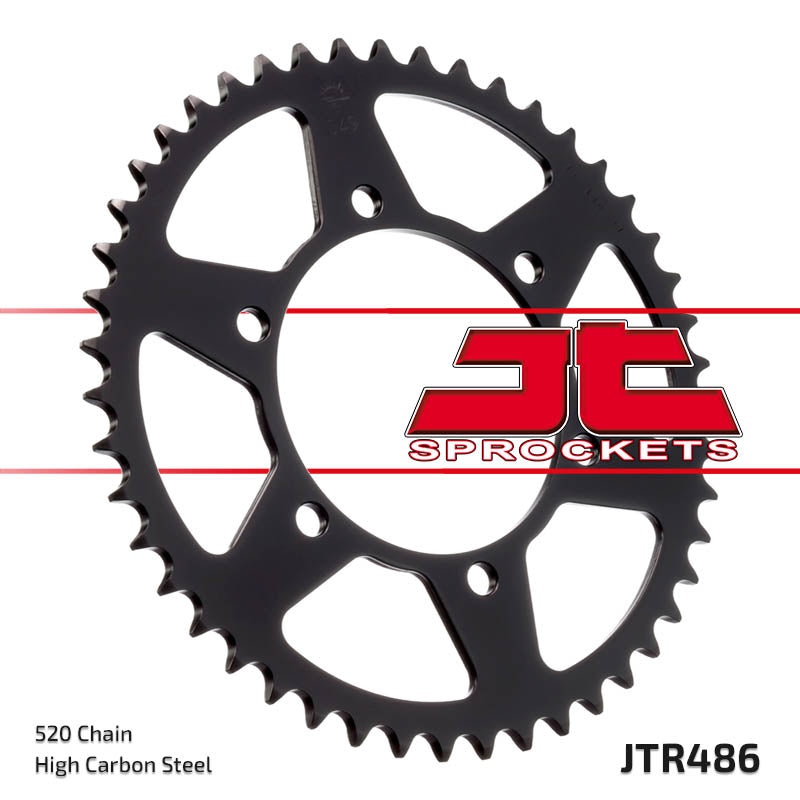 Rear Motorcycle Sprocket for Kawasaki_ZZR250 (EX250)_90-03