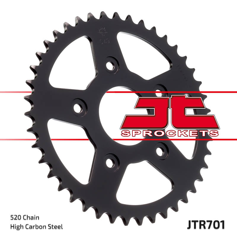 Rear Motorcycle Sprocket for Aprilia_125 RS Extrema_04-05, Aprilia_125 Tuareg Wind AE_89-90, Aprilia_125 Tuono_03-07