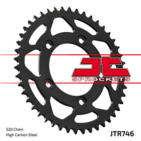 JTR746 Rear Drive Motorcycle Sprocket 43 Teeth (JTR 746.43)