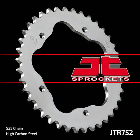 JTR752 Rear Drive Motorcycle Sprocket 43 Teeth (JTR 752.43)