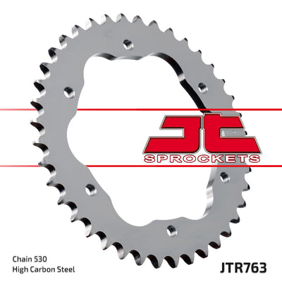 JTR763 Rear Drive Motorcycle Sprocket 40 Teeth (JTR 763.40)