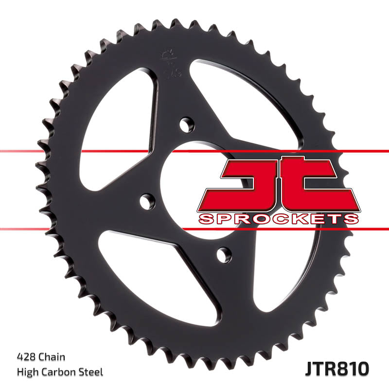 Rear Motorcycle Sprocket for Suzuki_GS125 ES Disc Brake_83-96, Suzuki_GS125 ES_97-00