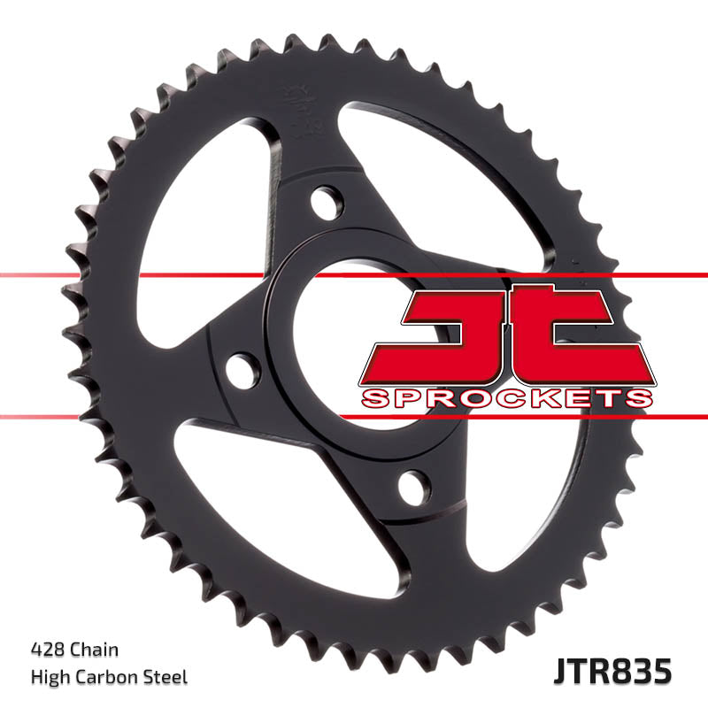 Rear Motorcycle Sprocket for Yamaha_RD80 LC 2_83-85, Yamaha_TZR80_92-95