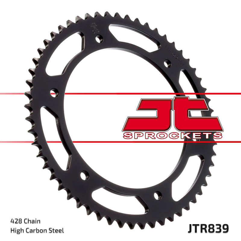 Rear Motorcycle Sprocket for Yamaha_DT200 R_88, Yamaha_TDR125_89-92, Yamaha_WR125 R-Y Z A_09-11, Yamaha_WR125 X-Y Z A_09-11