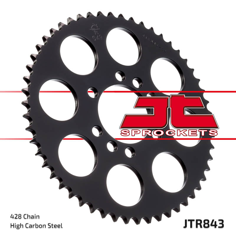 Rear Motorcycle Sprocket for Yamaha_XTZ125_02-04