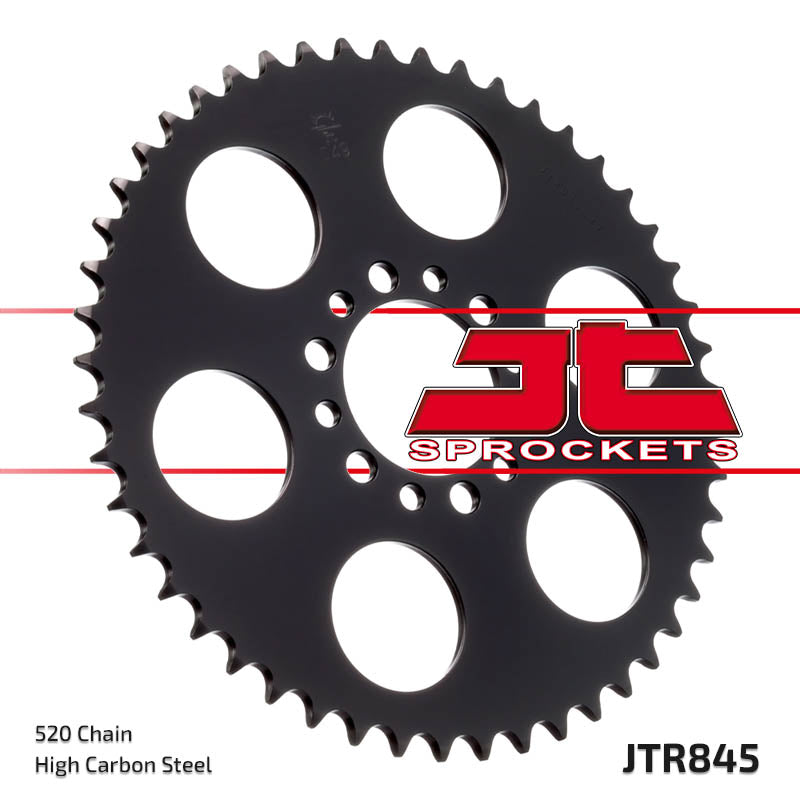 Rear Motorcycle Sprocket for Yamaha_SR250 SE_79-84, Yamaha_XT250 J_80, Yamaha_YD250_, Yamaha_YZ100 G H_80-81