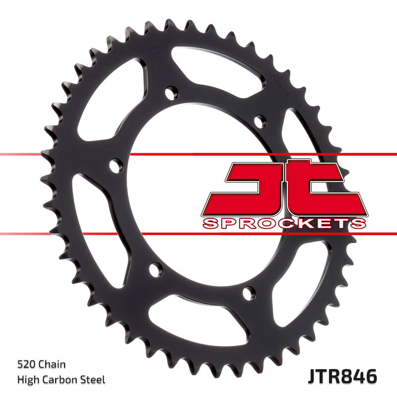 Rear Motorcycle Sprocket for Yamaha_TZR250 RC Reverse Cyl_90, Yamaha_TZR250 RC_89, Yamaha_TZR250 SP Sports Prod_90-present