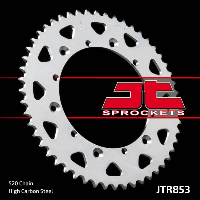 Rear Motorcycle Sprocket for Yamaha_DT200 R-W D E F G_89-95, Yamaha_DT250 MX_-80, Yamaha_DT400_75-76, Yamaha_TT250 R_93-95, Yamaha_XT500 D E F G H_77-85