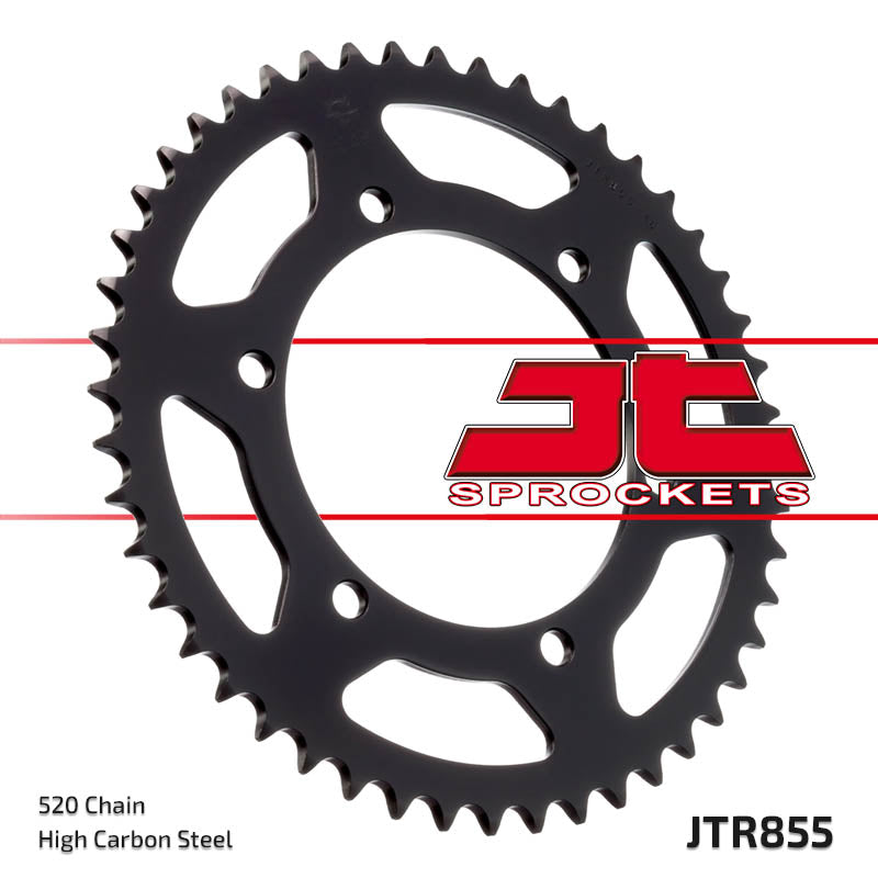 Rear Motorcycle Sprocket for Yamaha_XT660 R_04-11, Yamaha_XT660 R_12, Yamaha_XT660 X Super Motard_04-11, Yamaha_XT660 X Super Motard_12, Yamaha_XTZ660 Z Tenere ABS_11, Yamaha_XTZ660 Z Tenere_08-12