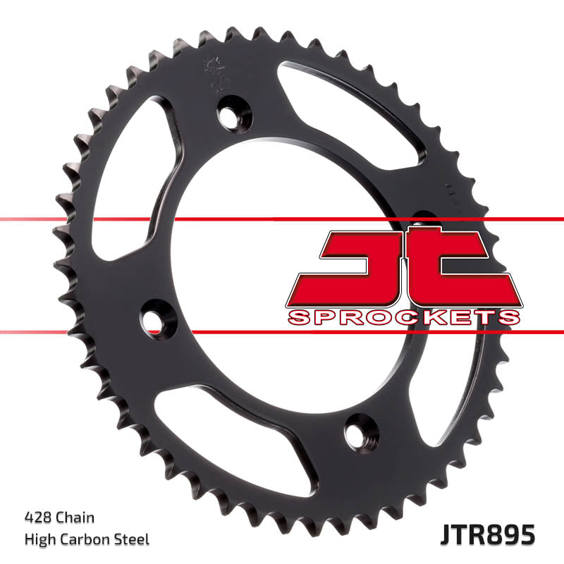 Rear Motorcycle Sprocket for KTM_105 SX_07-11, KTM_105 XC_08-09, KTM_85 SX (LW)_04-12